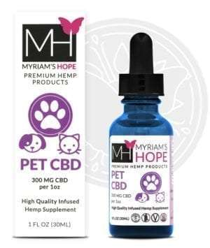 myriams hope pet cbd front 1